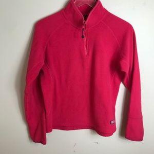 Vineyard Vines Pink FLeece pullover 2174